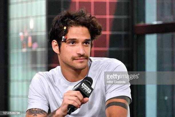 Musician/Actor Tyler Posey of the band PVMNTS visits Build Studio on August 10 2018 in New York City