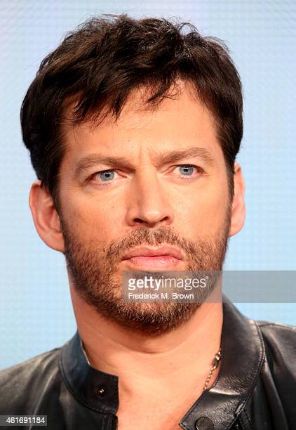 Musician/actor/judge Harry Connick, Jr. Speaks onstage during the 'American Idol' panel discussion at the FOX portion of the 2015 Winter TCA Tour at...