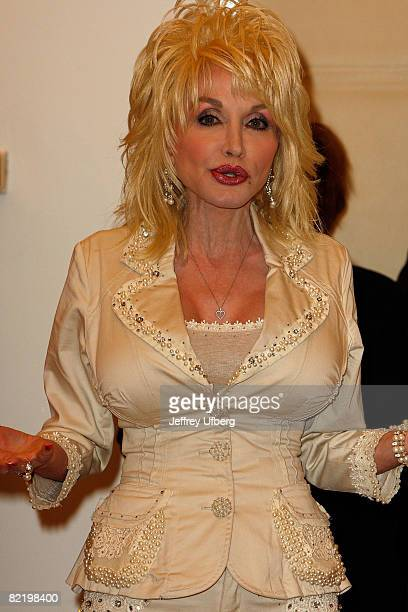 Musician/Actress Dolly Parton attends the press conference for 9 To 5 The Musical at the New 42nd Street Studios on July 15 2008 in New York City