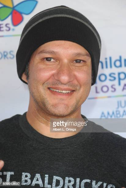 Musician/artist Neil D'Monte attends the 2nd Annual #Action Jax Movie Morning Fundraiser screening of 'The Goonies' presented by Nerds Like Us and...