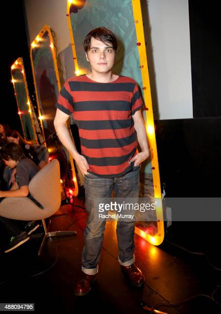 Musician/Comic book writer Gerard Way attends 'Humans From Earth' Podcast Series Day 2 at the Egyptian Theatre on May 3 2014 in Hollywood California