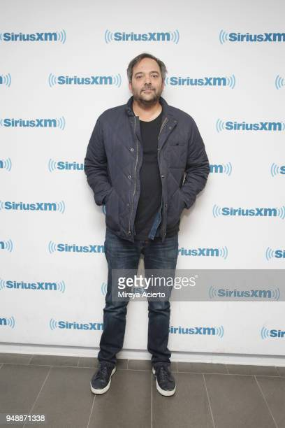 Musician/composer Adam Schlesinger visits SiriusXM Studios on April 19 2018 in New York City