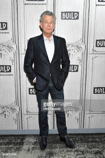 Musician/composer David Foster visits Build Studio on April 9 2018 in New York City