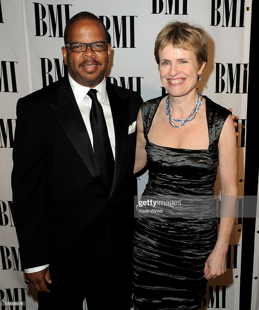 Musician/composer Terence Blanchard (L) and composer Rachel Portman arrive at the 2010 BMI Film and Television Awards at the Beverly Wilshire Hotel on May 19, 2010 in Beverly Hills, California.