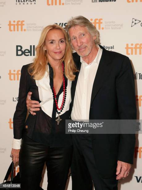 Musician/director Roger Waters and actress Laurie Durning attends the 'Roger Waters The Wall' premiere during the 2014 Toronto International Film...
