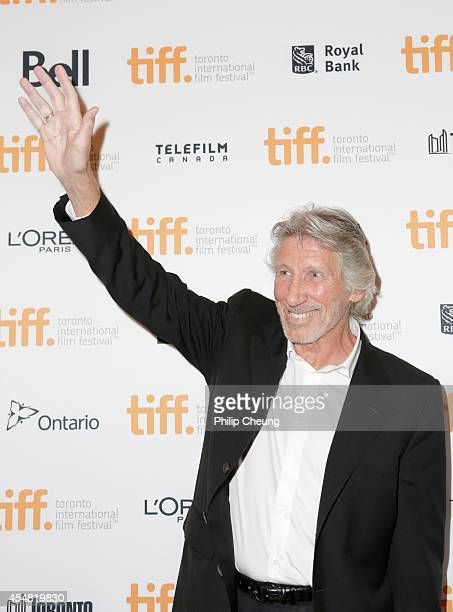 Musician/director Roger Waters attends the 'Roger Waters The Wall' premiere during the 2014 Toronto International Film Festival at The Elgin on...