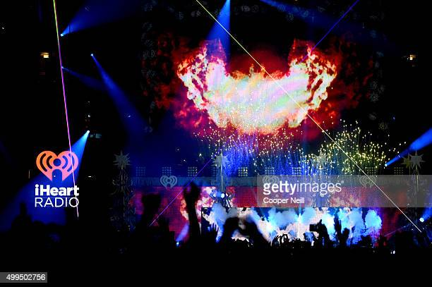 Musician/DJ Zedd performs onstage during 106.1 KISS FM's Jingle Ball 2015 presented by Capital One at American Airlines Center on December 1, 2015 in...