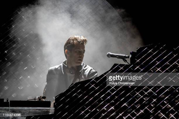Musician/DJ/songwriter Mark Ronson performs onstage at the Northside Festival on June 07 2019 in Aarhus Denmark