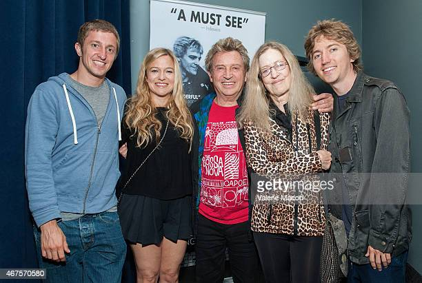 Musician/photographer Andy Summers and family Anton Y Summers Layla Summers Kate Summers and Maurice X Summers attend the Premiere Of Can't Stand...