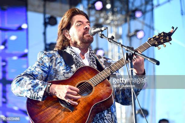 Musician/producer Alan Parsons performs onstage during the One 805 Kick Ash Bash benefiting First Responders at Bella Vista Ranch Polo Club on...