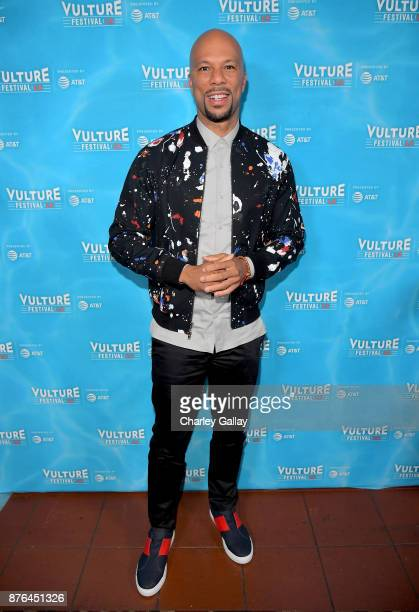Musician/producer Common attends the 'Chi' event during Vulture Festival LA presented by ATT at Hollywood Roosevelt Hotel on November 19 2017 in...