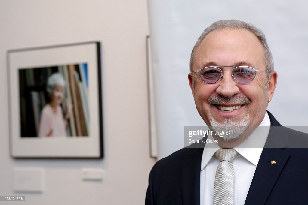 Musician/producer Emilio Estefan attends Gloria and Emilio Estefan In Conversation with Rita Moreno held at the 92nd Street Y on October 19, 2015 in New York City.