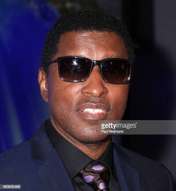 Musician/producer Kenneth Babyface Edmonds attends ISINA collaboration announcement at Capitol Recording Studios Holiday Party at Capitol Records...