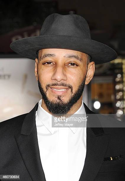 Musician/producer Swizz Beatz arrives at the Los Angeles premiere of 'Dumb And Dumber To' at Regency Village Theatre on November 3 2014 in Westwood...