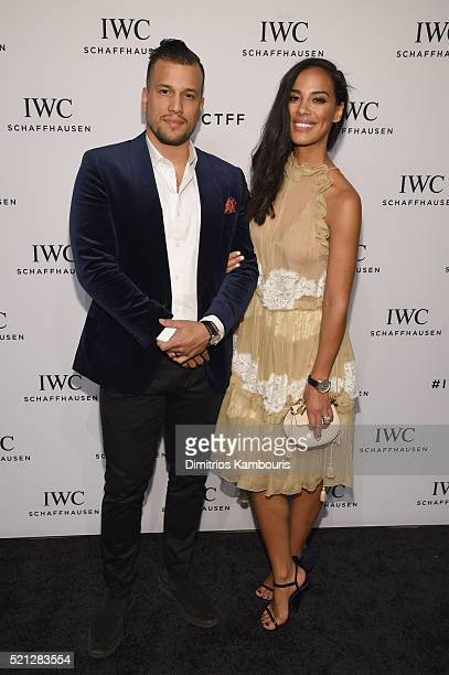 """Musicians Abner Ramirez and Amanda Sudano of Johnnyswim attend the exclusive gala event """"For the Love of Cinema"""" during the Tribeca Film Festival..."""