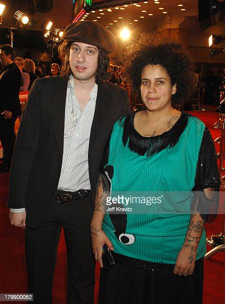 Musicians Adam Green and Kimya Dawson of The Moldy Peaches at the premiere of Fox Searchlight's Juno at the Village Theater on December 3 2007 in...
