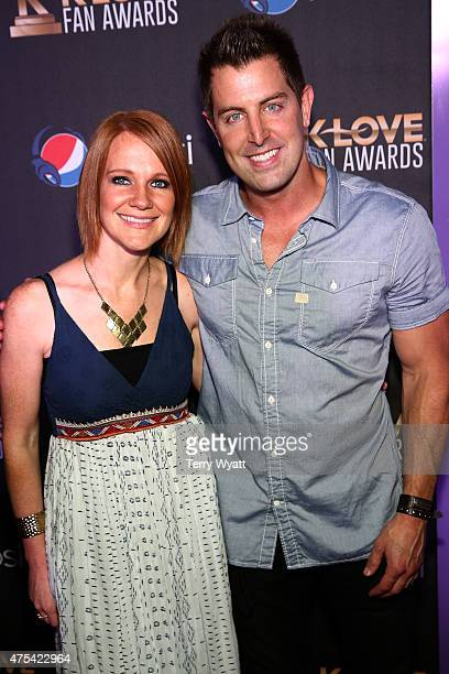 Musicians Adrienne Camp and Jeremy Camp attend the 3rd Annual KLOVE Fan Awards at the Grand Ole Opry House on May 31, 2015 in Nashville, Tennessee.