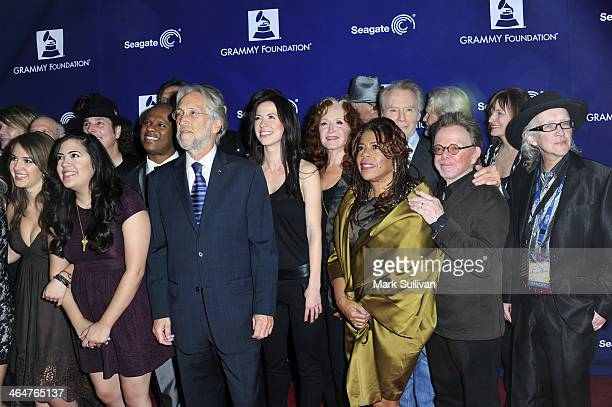 Musicians Alaina Stacey Kristen Castro Ryan Shaw The Recording Academy President/CEO Neil Portnow musicians Jimmy Webb Joy Williams Bonnie Raitt...