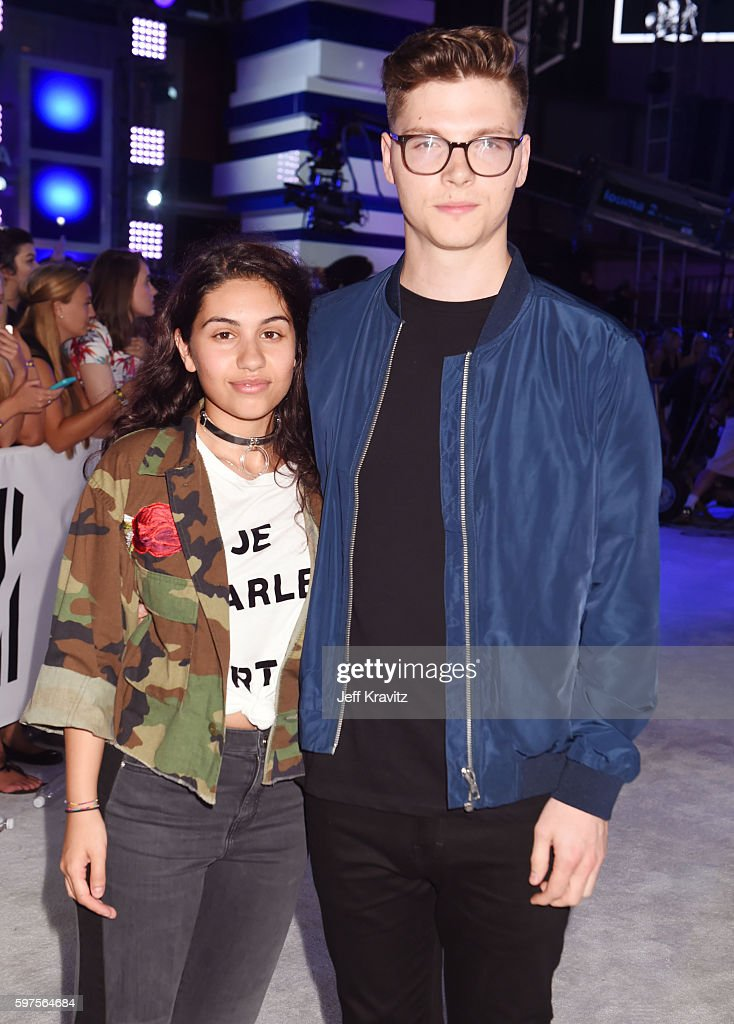 Musicians Alessia Cara and Kevin Garrett attend the 2016 MTV Video Music Awards at Madison Square Garden on August 28, 2016 in New York City.