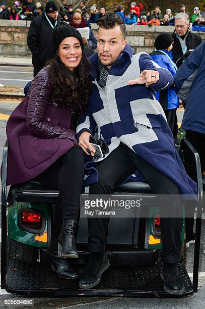Musicians Amanda Sudano and Abner Ramirez of Johnnyswim attend the on 90th Annual Macy's Thanksgiving Day Parade on November 24 2016 in New York City