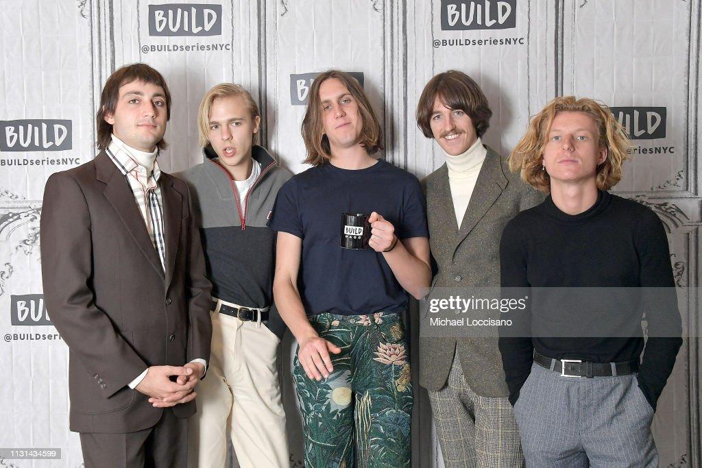NY: Celebrities Visit Build - February 22, 2019