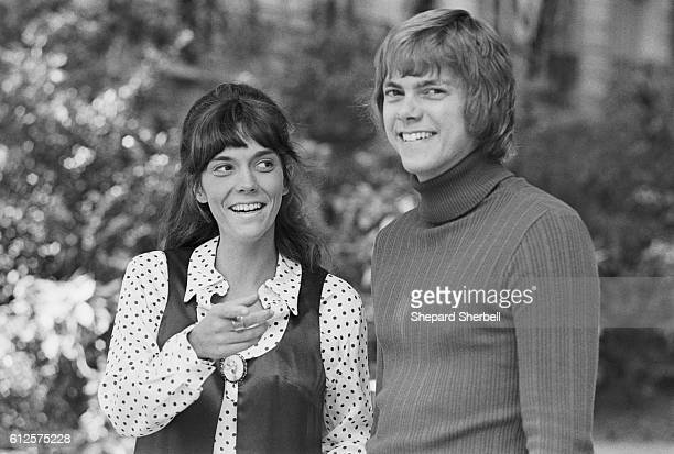 Musicians and siblings Karen and Richard Carpenter in Paris