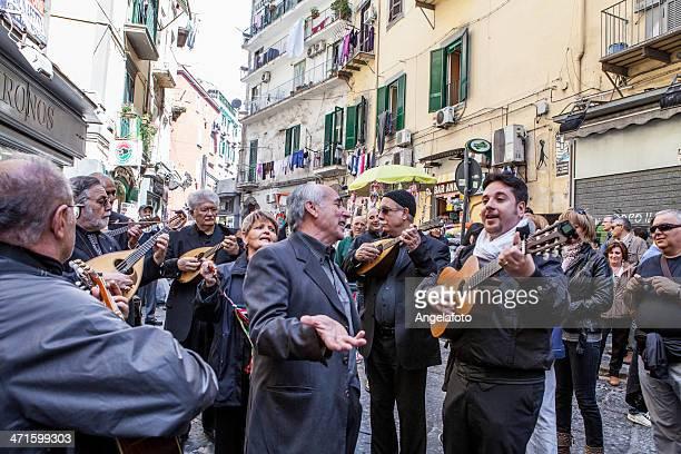 ミュージシャン、シンガーのネイプルズ Street ,イタリア