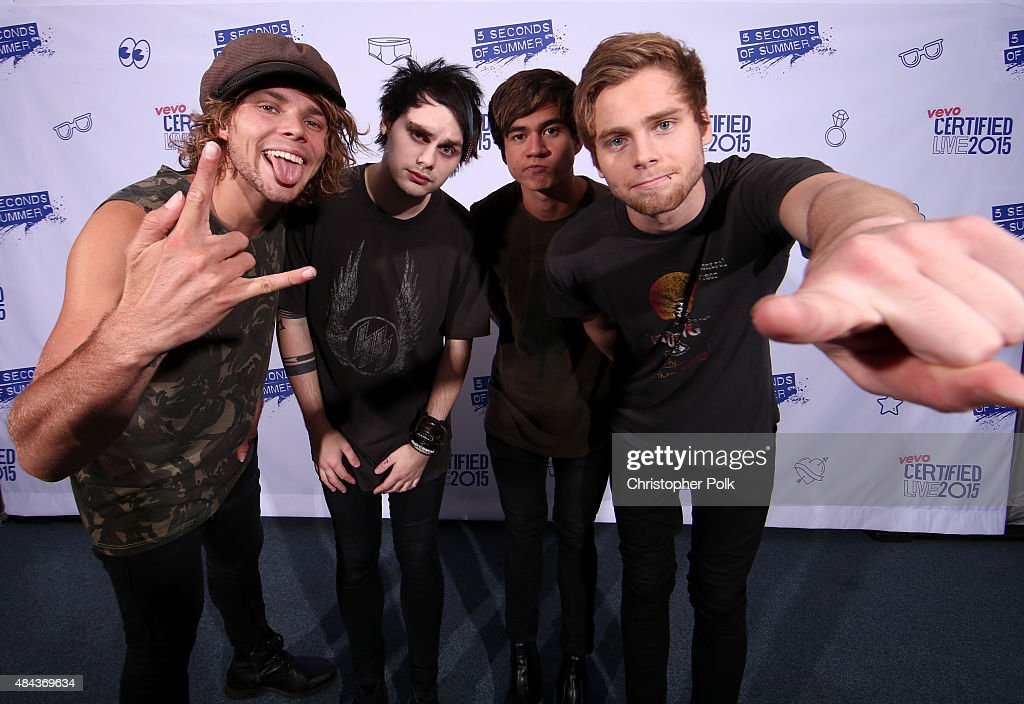 Vevo certified presents 5 seconds of summer photos and images musicians ashton irwin michael clifford calum hood and luke hemmings of 5 seconds of m4hsunfo