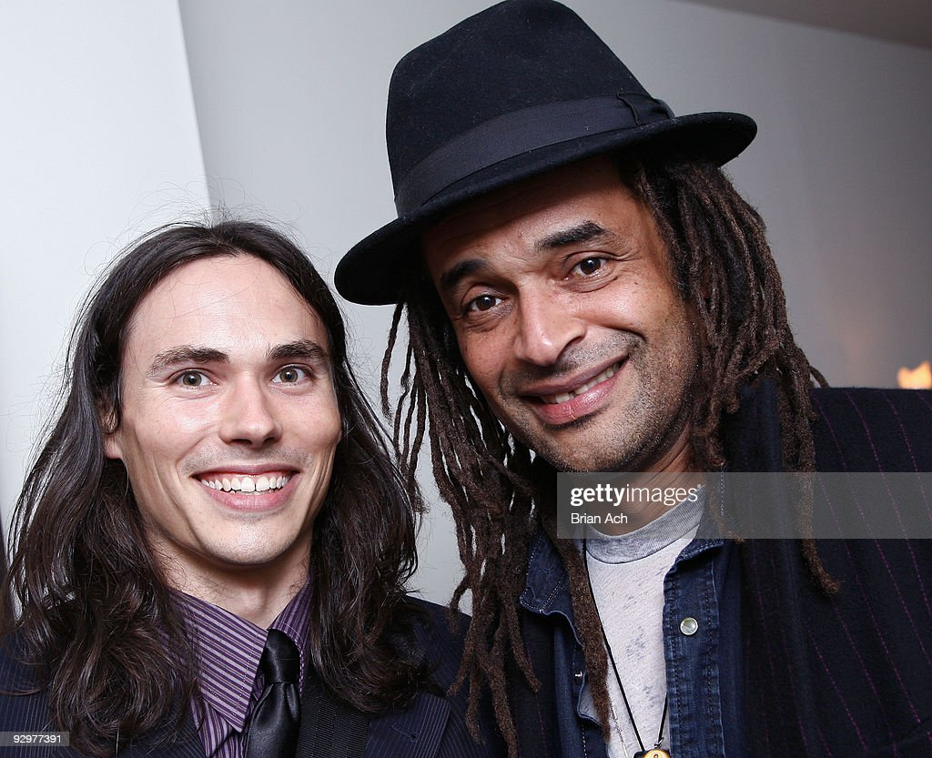 Musicians Ben Jelen and Yannick Noah attend the 6th Annual Ten O'Clock Classics benefit gala at the The Union Square Ballroom on November 10, 2009 in New York City.