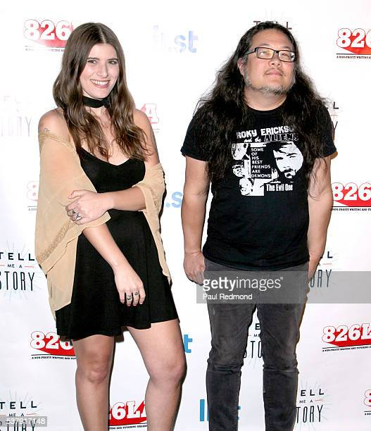 Musicians Bethany Cosentino and Bobb Bruno of the band Best Coast arrive at 826LA's Tell Me A Story at The Wiltern on June 2 2016 in Los Angeles...