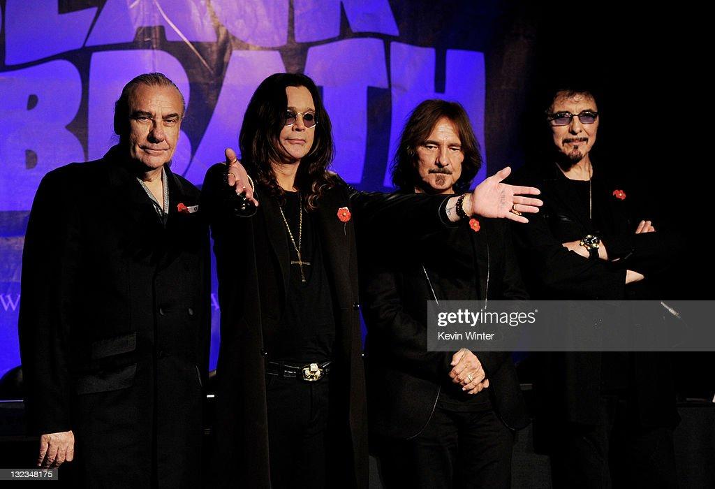 Black Sabbath Press Conference : News Photo