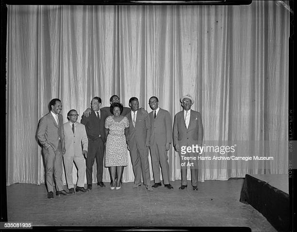 Musicians Billy Eckstine or Charles Bell Billy Strayhorn Duke Ellington Mary Lou Williams Dizzy Gillespie Earl 'Fatha' Hines Billy Taylor and Willie...