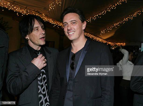 Musicians Billy Morrison and Donovan Leitch at the Hollywood Life Breakthrough of the Year Awards After Party held at The Henry Fonda Music Box...