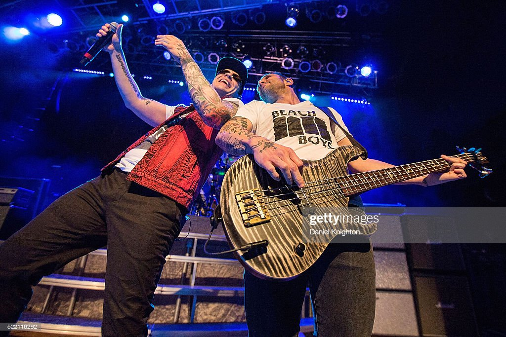 Shinedown Performs At The House Of Blues In San Diego, CA : News Photo