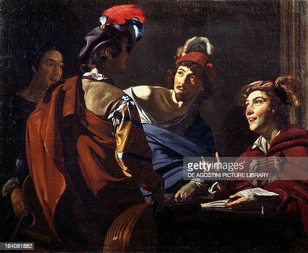 Musicians ca 1620 by Theodor Rombouts oil on canvas 61x76 cm Rome Galleria Nazionale D'Arte Antica Di Palazzo Corsini