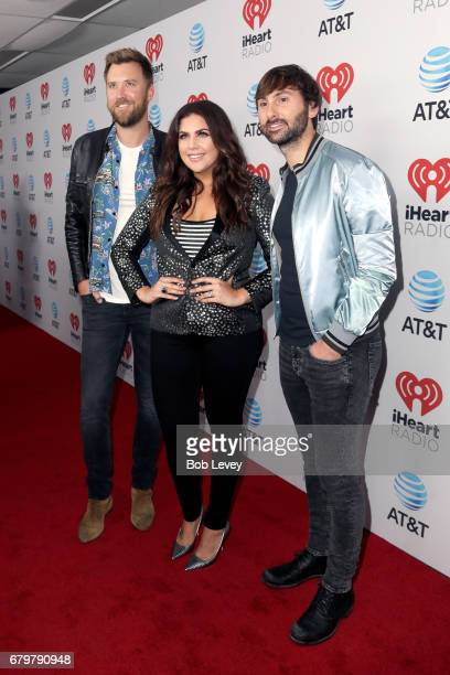 Musicians Charles Kelley Hillary Scott and Dave Haywood of Lady Antebellum attend the 2017 iHeartCountry Festival A Music Experience by ATT at The...