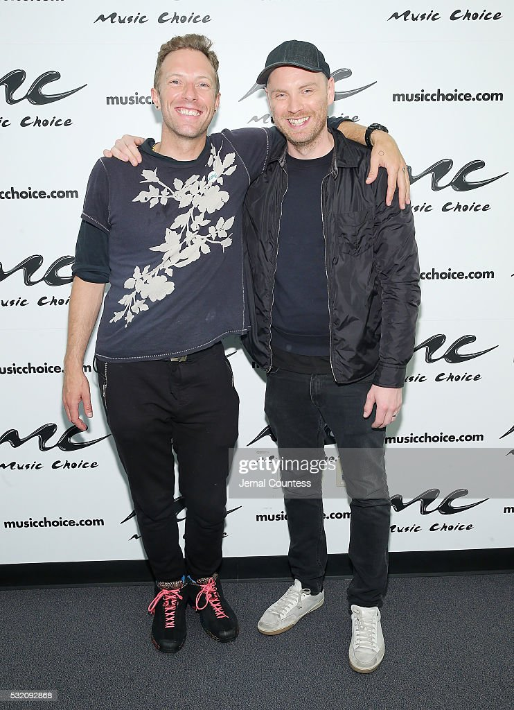 Coldplay Visits Music Choice