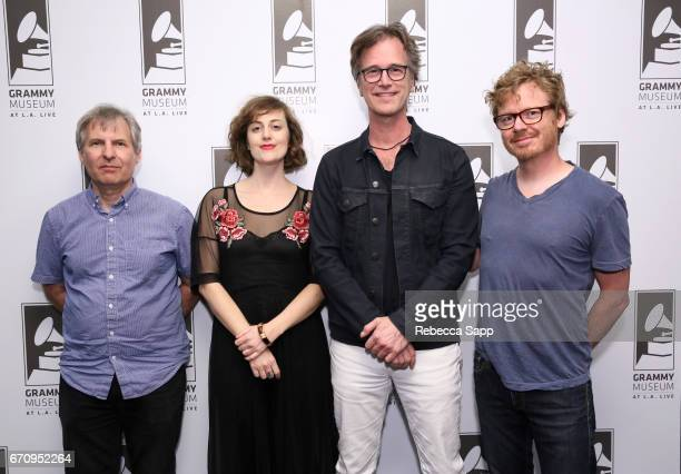 Musicians Chris Stamey Skylar Gudasz Dan Wilson and director Benno Nelson attend Reel to Reel Thank you Friends Big Star's Third Live And More at The...
