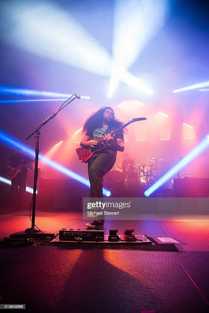 Musicians Claudio Sanchez and Josh Eppard of Coheed