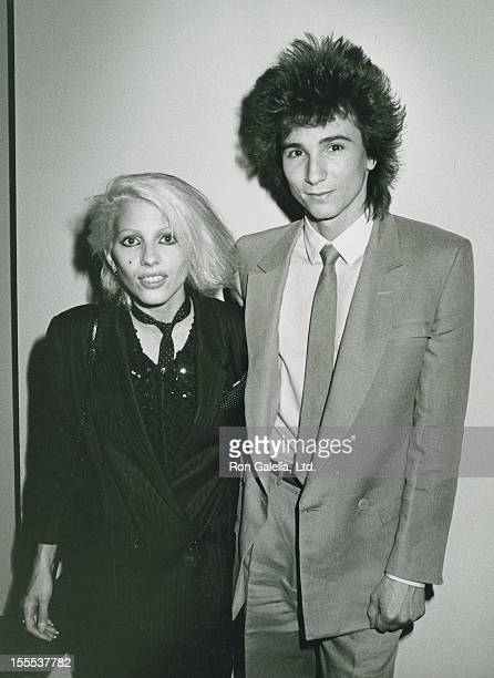 Musicians Dale Bozzio and Terry Bozzio of Missing Persons attend City of Hope Lifetime Achievement Awards Banquet on June 30 1983 at the Century...