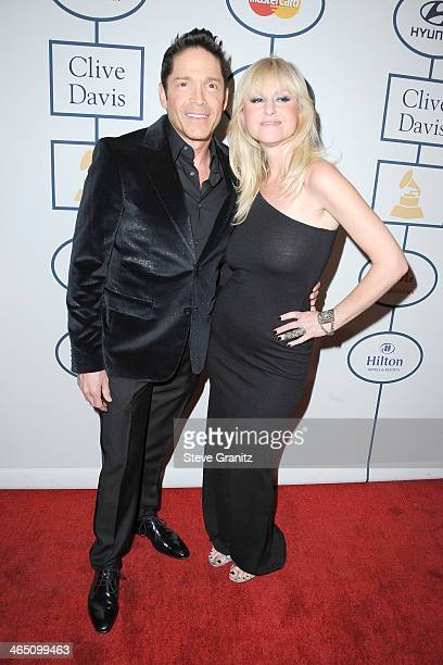 Musicians Dave Koz and Mindy Abair attend the 56th annual GRAMMY Awards PreGRAMMY Gala and Salute to Industry Icons honoring Lucian Grainge at The...