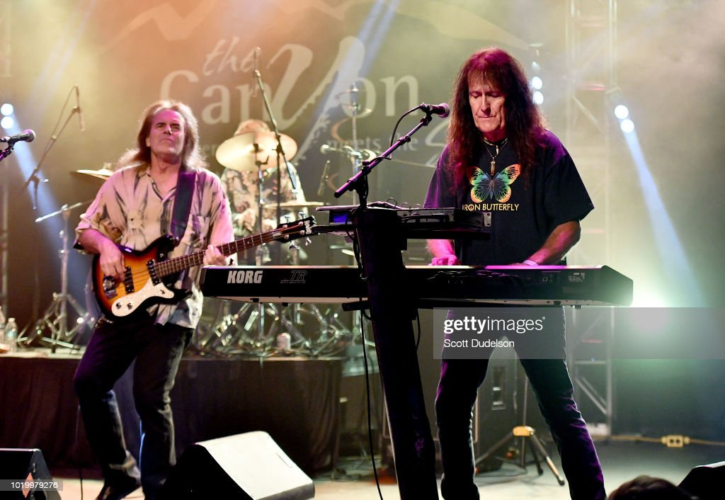 Iron Butterfly In Concert - Agoura Hills, CA : News Photo