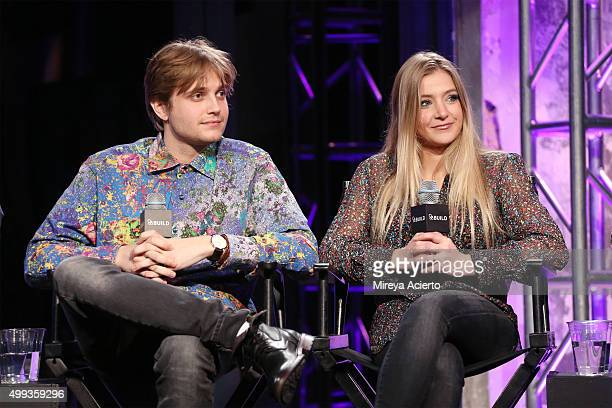 Musicians Dez Money and Jesse Money attend AOL Build at AOL Studios on November 30, 2015 in New York City.