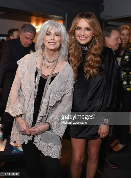 Musicians Emmylou Harris and Carly Pearce attend the Country Music Hall of Fame and Museum's 'All for the Hall' Benefit on February 13 2018 in New...