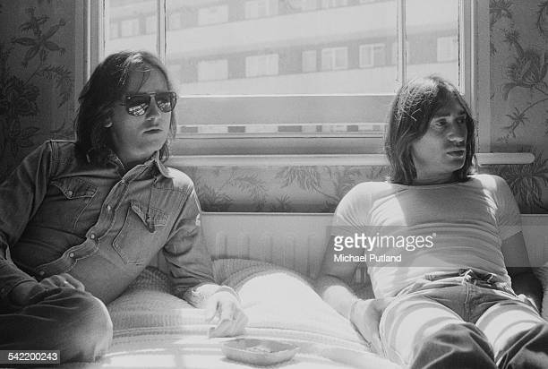 Musicians Eric Stewart and Lol Creme of English rock band 10cc 19th June 1975