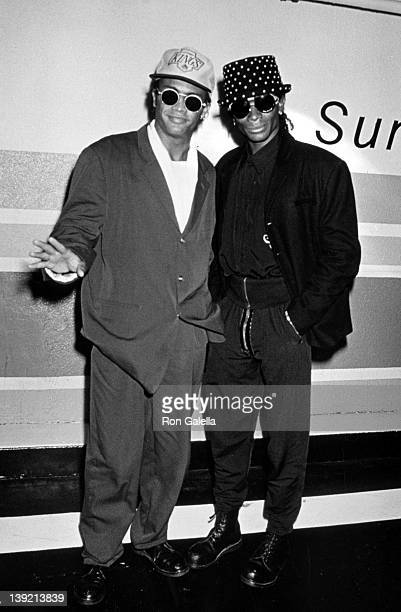 Musicians Fab Morvan and Rob Pilatus sighted on February 12 1991 at Bar One in New York City