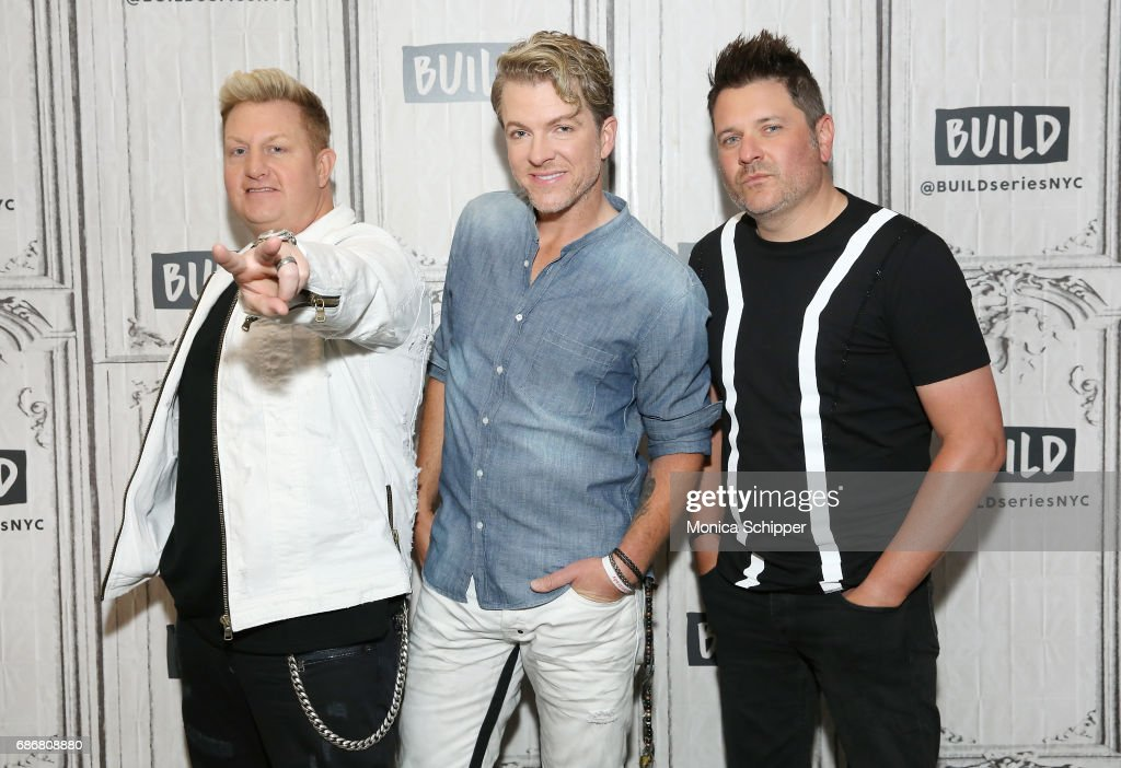 Build Presents Rascal Flatts Promoting Their New Album