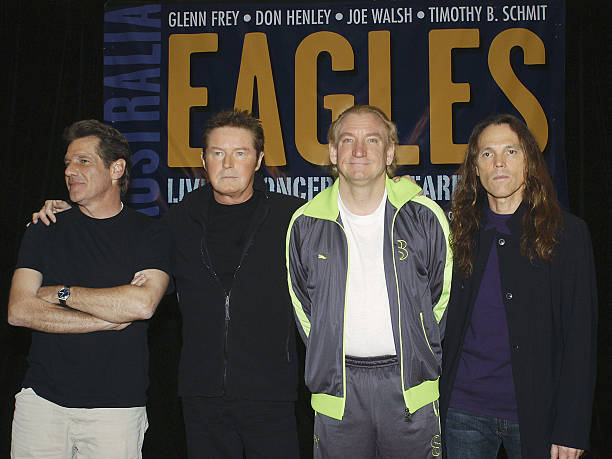 eagles announce farewell tour in melbourne photos and images getty images. Black Bedroom Furniture Sets. Home Design Ideas