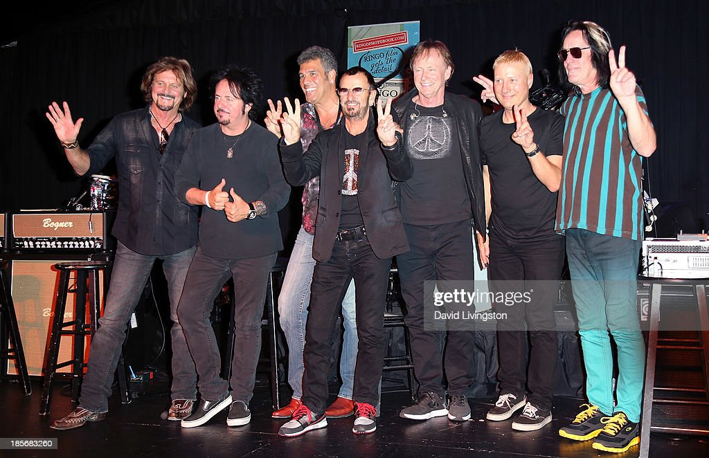 Ringo Starr & His All Starr Band Press Conference