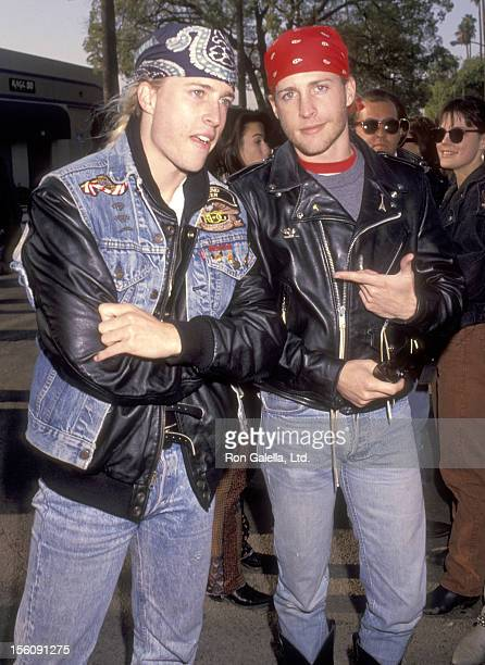 Musicians Gunnar Nelson and Matthew Nelson attend the Love Ride 8 Eighth Annual Motocycle Rider's Fundraiser for the Muscular Dystrophy Association...